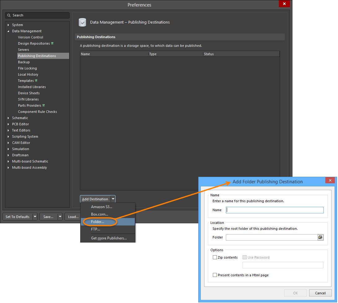 Preparing Multiple Outputs in an OutputJob   Altium Designer 18 0