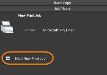 Print jobs handle print-based output, or