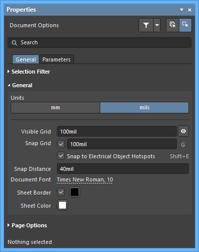 Properties | Altium Designer 18 1 User Manual | Documentation