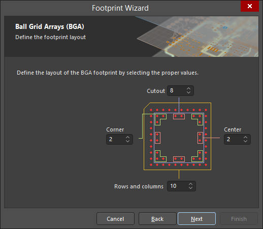 Footprint Wizard | Altium Designer 18 1 User Manual