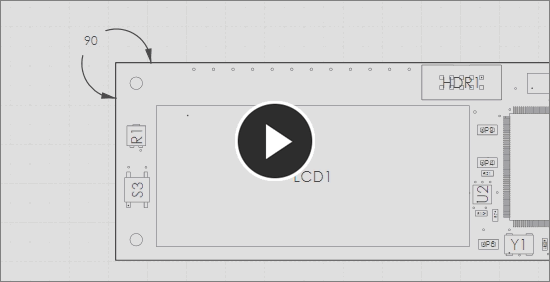 Demonstration video, angular dimension tool
