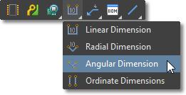 Draftsman Active Bar, dimension tools