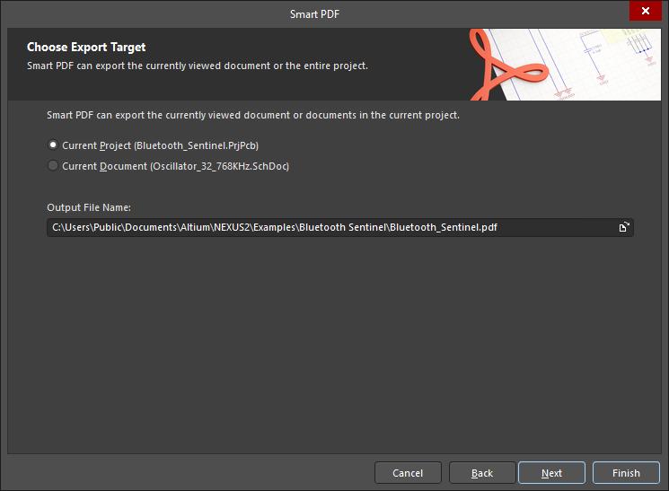 Smart PDF Wizard | Altium NEXUS 2 0 User Manual | Documentation