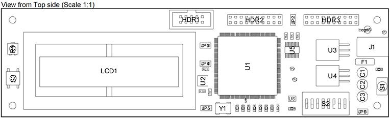 Размещенный вид Board Assembly View с заданным видом сверху
