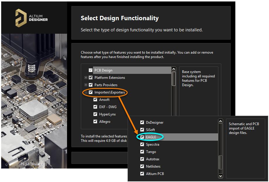 EAGLE Import | Altium Designer 19 0 User Manual | Documentation