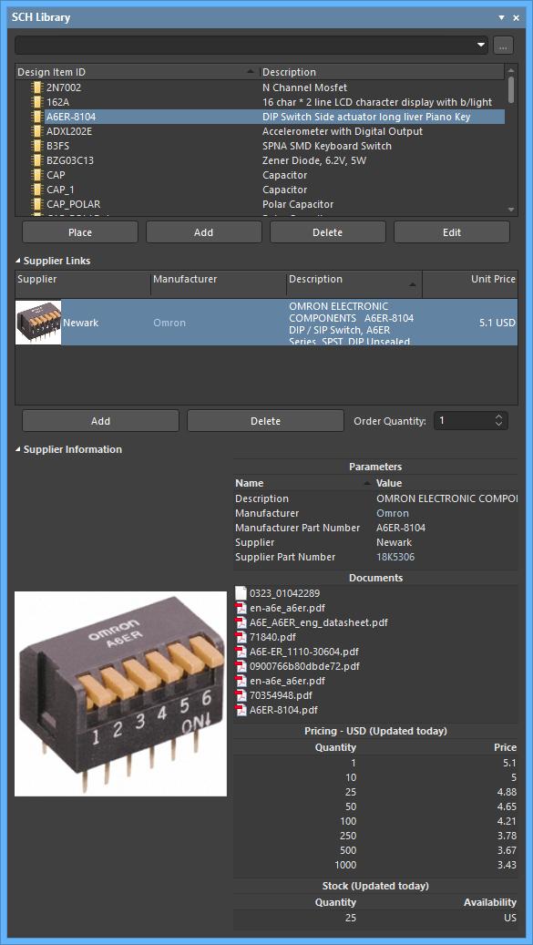 SCH Library | Altium Designer 19 0 User Manual | Documentation
