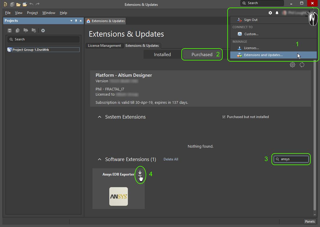 Interfacing to the ANSYS Simulation Tools | Altium Designer 19 0