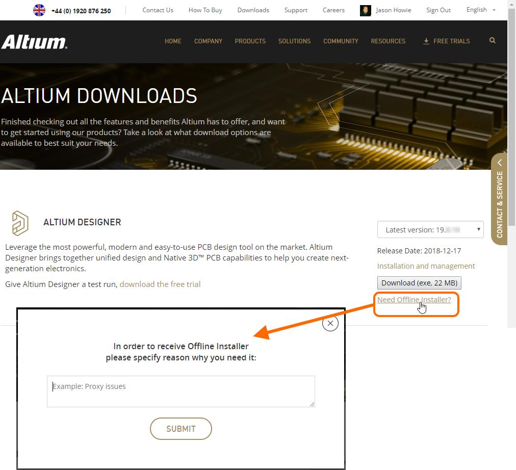Offline Installation of Altium Designer | Altium Designer 19 0 User