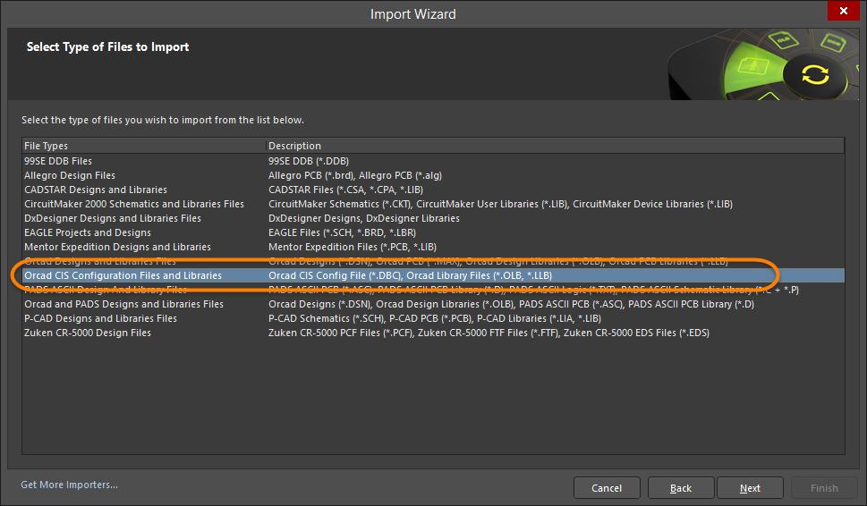 OrCAD CIS Import | Altium NEXUS 2 0 User Manual | Documentation