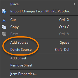 Multi-sources for a Callout Object