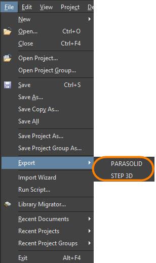 Parasolid Vs Step