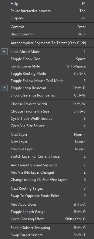 Track | Altium Designer 19 0 User Manual | Documentation