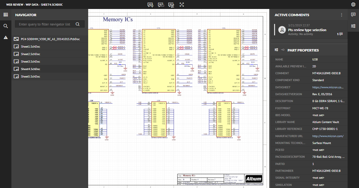 Browser-based Web Review   Altium NEXUS 2 1 Руководство