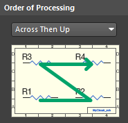Specifythe order that components will be processed.