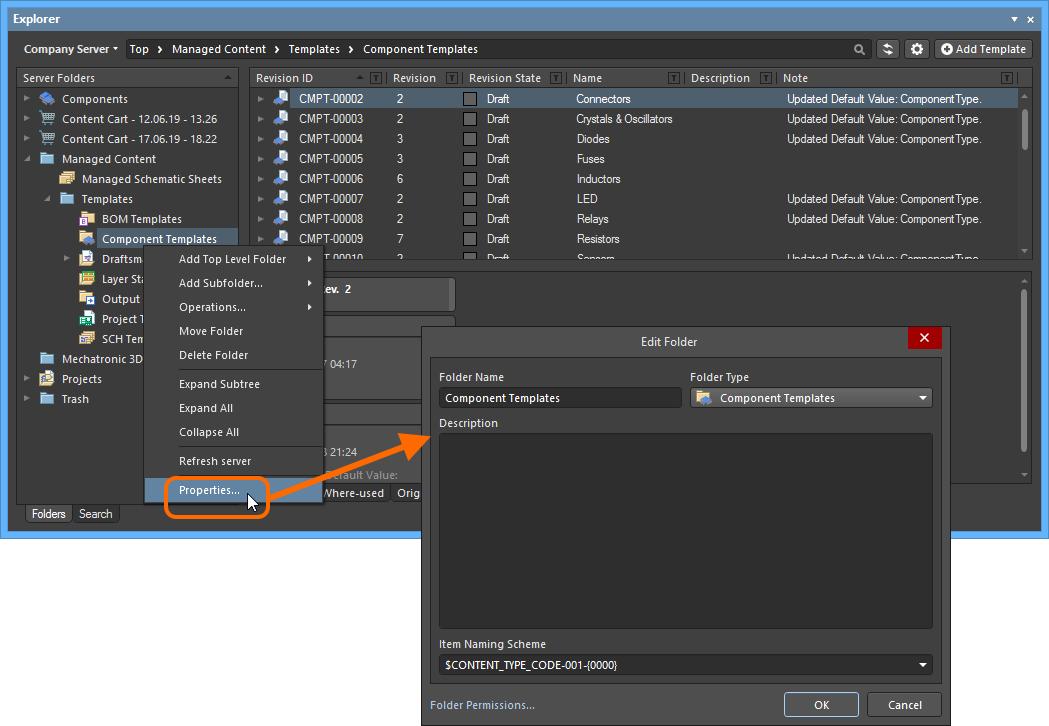 Managed Component Templates   Altium NEXUS 2 0 User Manual
