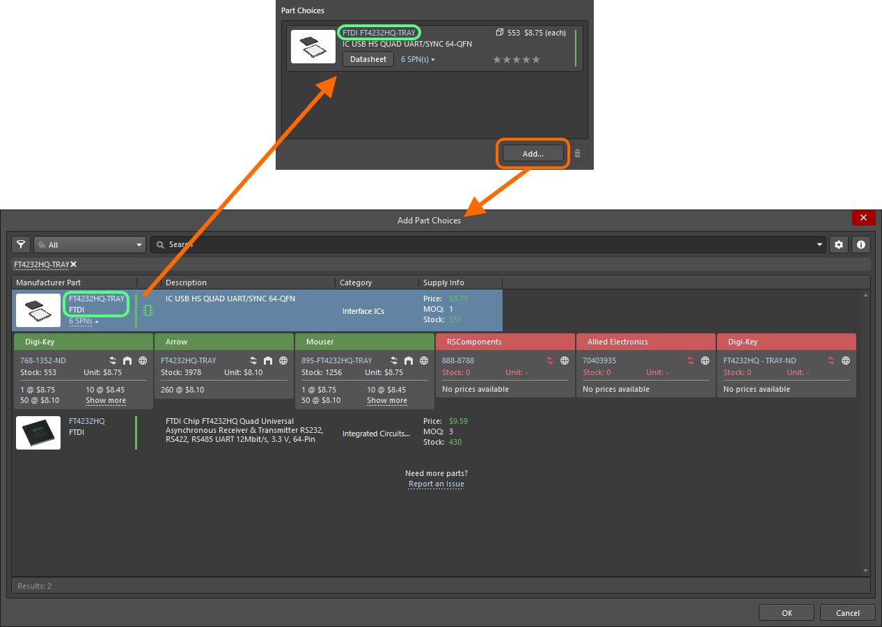 Component Editor - Single Component Editing Mode | Altium Designer