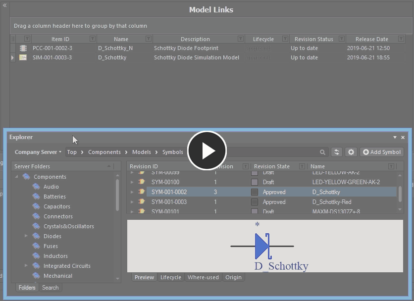 Add one, or multiple models, through drag and drop from the Explorer panel.