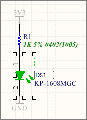 Graphically editing a component designator