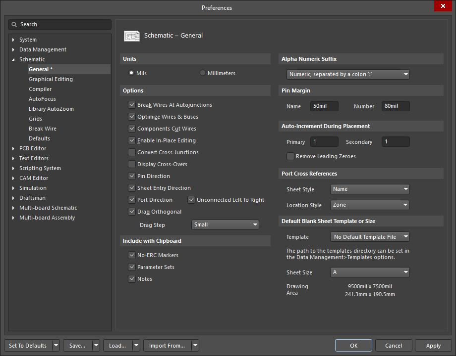 Schematic General Altium Designer 20 2 User Manual Documentation