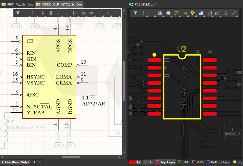 Board Level Annotation allows the completed design to be re-annotated, assigning a unique physical designator to each component.