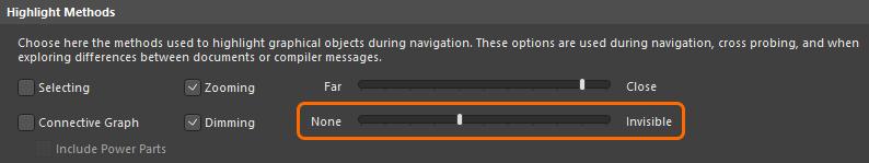 Нередактируемые объекты отображаются затененными на повторяющихся вкладках канала, настройте это в окне Preferences