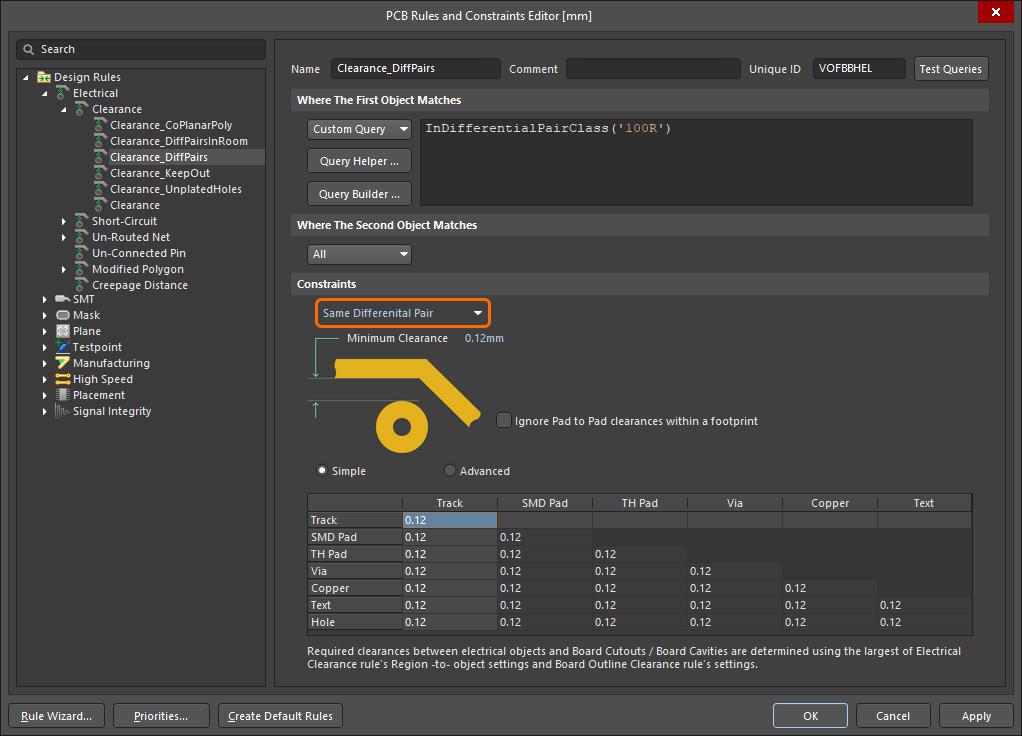 Differential Pair Routing Altium Designer 20 2 User Manual Documentation