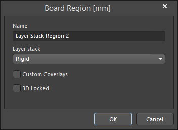 The board is split into regions and stacks are assigned in Board Planning Mode.