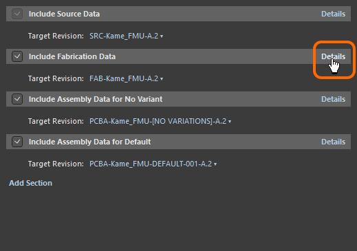 Откройте подробную информации о наборе формируемых данных. Наведите курсор на изображение, чтобы увидеть.