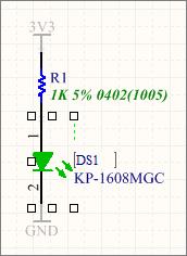 Графическое редактирование позиционного обозначения компонента