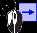 Перетаскивайте мышь с зажатой ЛКМ слева направо для выделения объектов, полностью попадающих в рамку