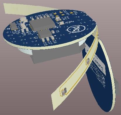 Улучшите отображение платы, применив эффект 3D-тени. Наведите курсор мыши на изображение, чтобы увидеть результат.
