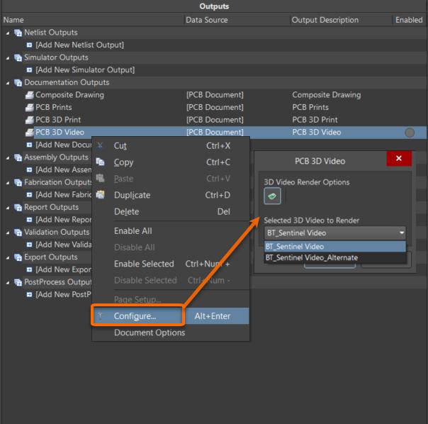 Выберите 3D-ролик, который вы хотите использовать в качестве источника формируемого видео.