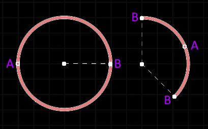 A selected Arc