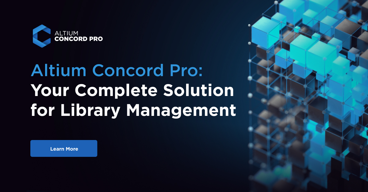 Altium Concord Pro - Electronic Components Library and