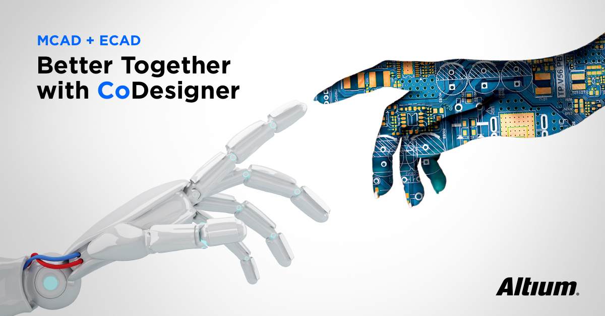 With Altium's CoDesigner capability, mechanical and PCB designers can now work together more effectively than ever before.