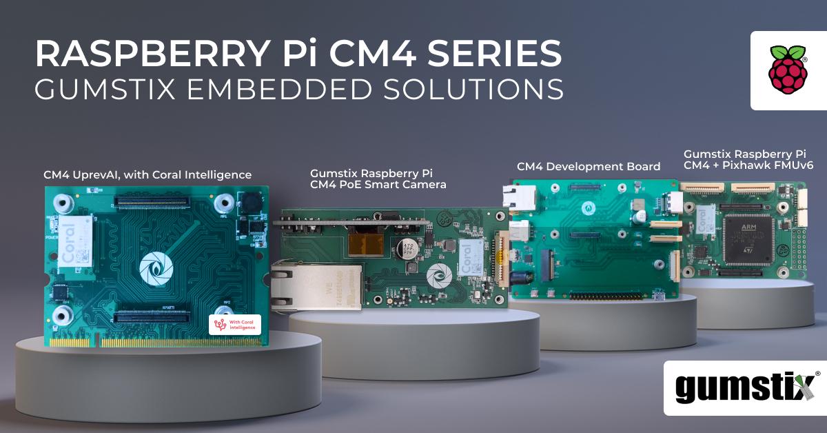 Gumstix Raspberry Pi CM4 Series